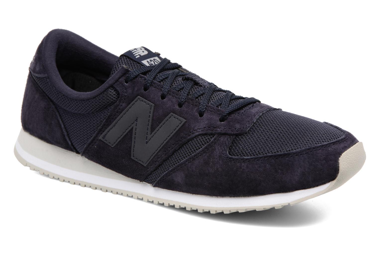 Sneakers New Balance U420 Blauw detail