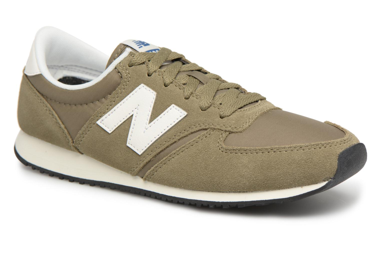 New Balance U420 (Vert) - Baskets en Más cómodo Chaussures casual sauvages