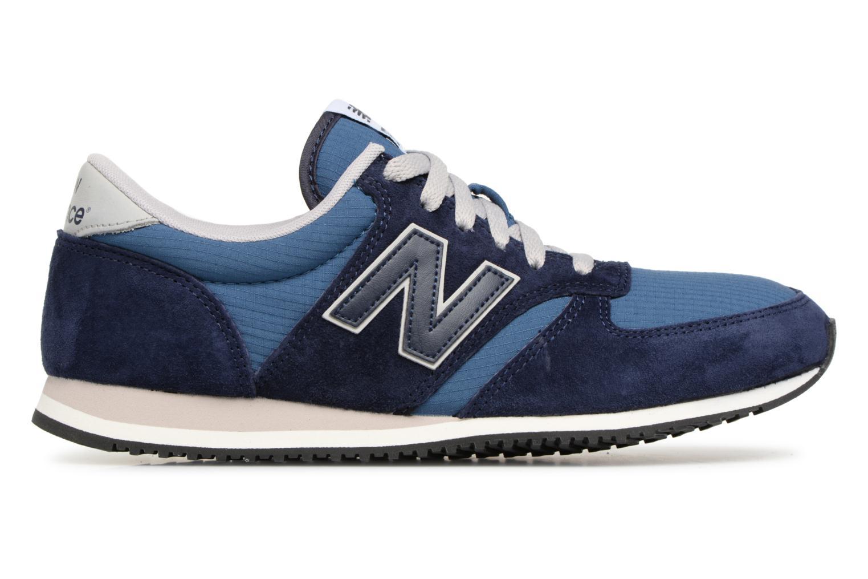 Sneakers New Balance U420 Azzurro immagine posteriore