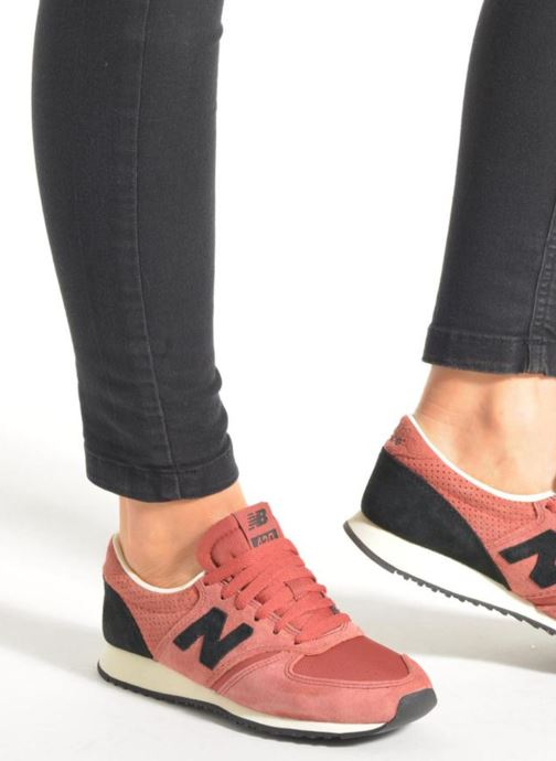 Trainers New Balance U420 W Black view from underneath / model view