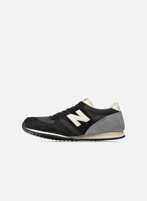 Sneakers New Balance U420 W Zwart voorkant