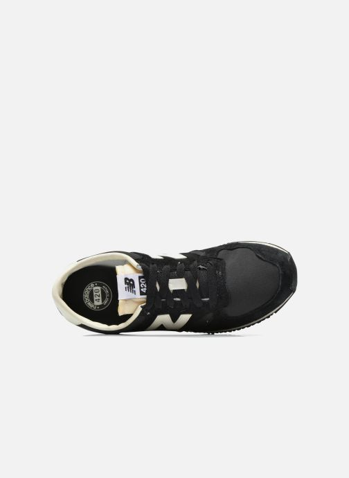Trainers New Balance U420 W Black view from the left