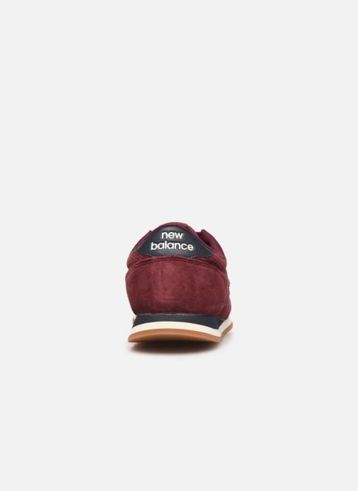 Trainers New Balance U420 W Burgundy view from the right