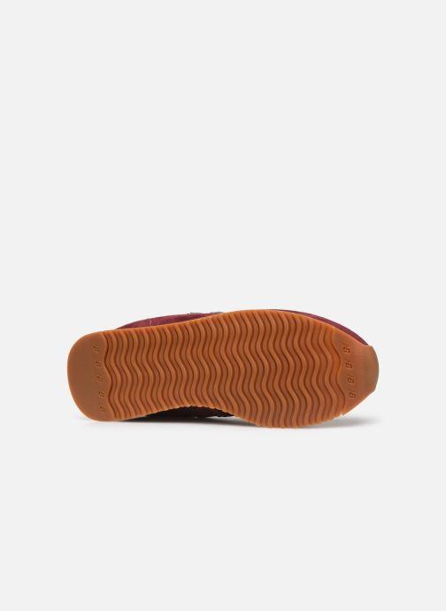 Baskets New Balance U420 W Bordeaux vue haut