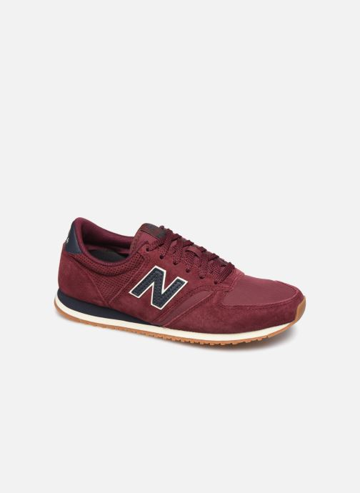 Trainers New Balance U420 W Burgundy detailed view/ Pair view