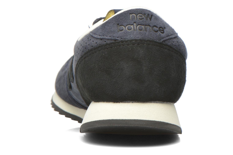 Baskets New Balance U420 W Bleu vue droite