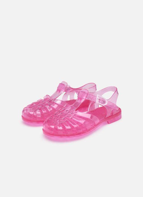 Sportschuhe Méduse Sun W rosa ansicht von unten / tasche getragen