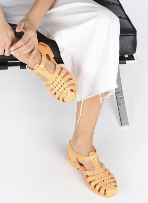 Chaussures de sport Méduse Sun W Orange vue bas / vue portée sac