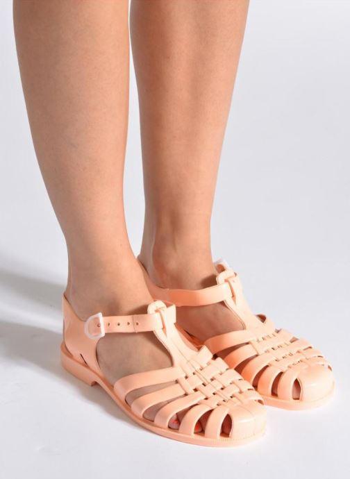 Chaussures de sport Méduse Sun W Argent vue bas / vue portée sac