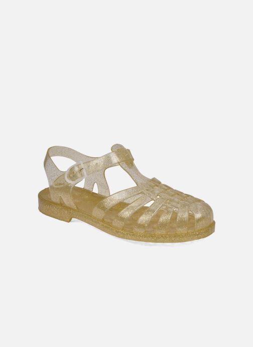 Chaussures de sport Méduse Sun W Or et bronze vue détail/paire