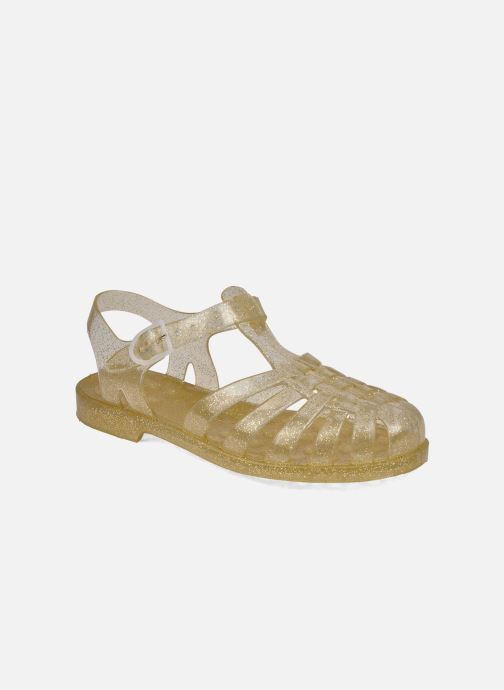Sport shoes Méduse Sun W Bronze and Gold detailed view/ Pair view