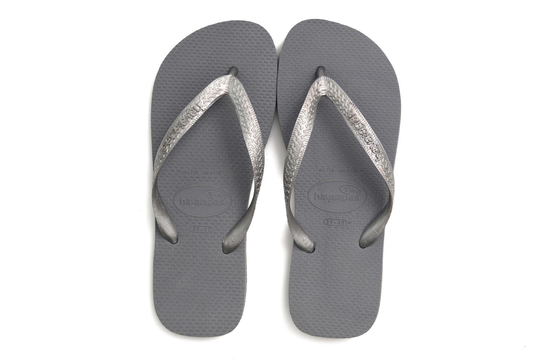 Slippers Havaianas Top Metallic F Grijs 3/4'