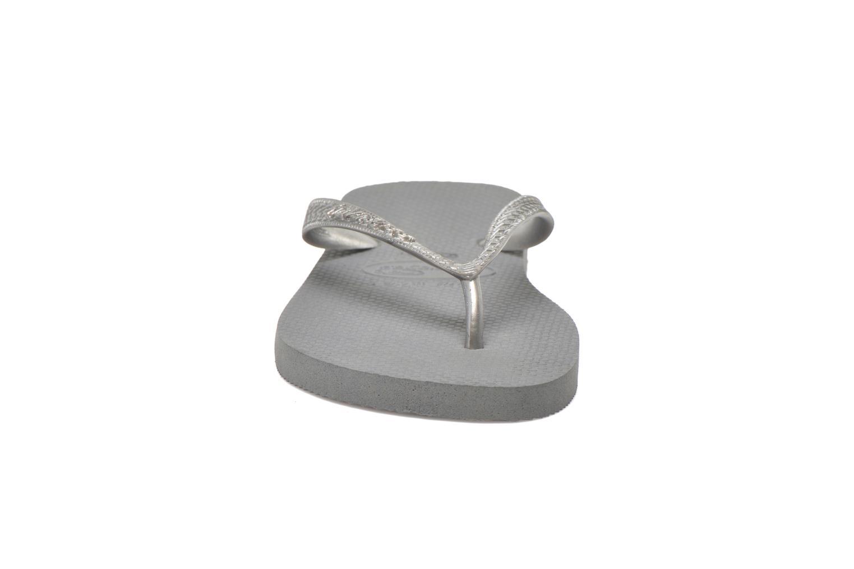 Slippers Havaianas Top Metallic F Grijs model