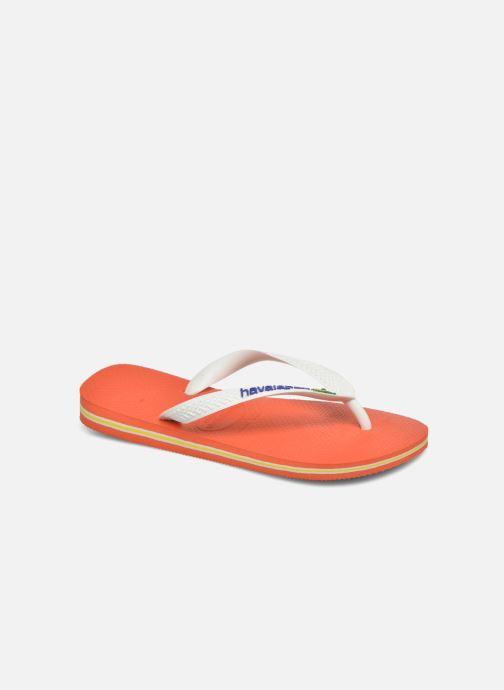 60bb7d6c8f844e Havaianas Brasil Logo F (Orange) - Flip flops chez Sarenza (281153)