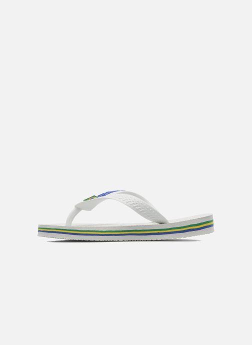 Slippers Havaianas Brasil Logo E Wit voorkant