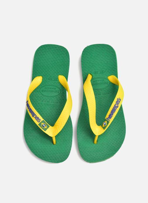 Tongs Havaianas Brasil Logo E Vert vue 3/4