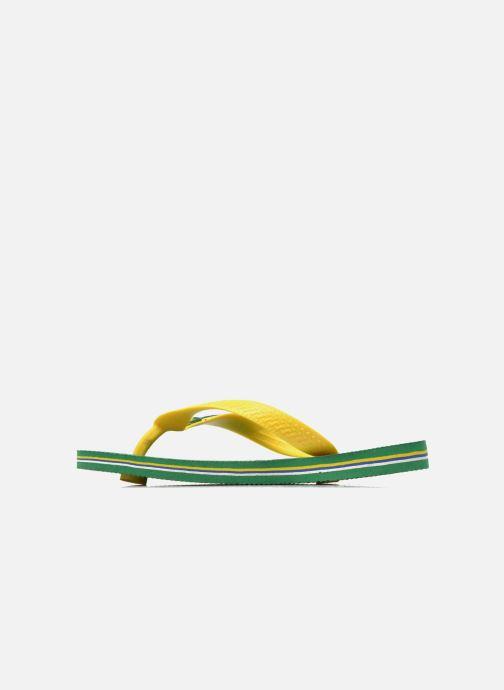 Tongs Havaianas Brasil Logo E Vert vue face