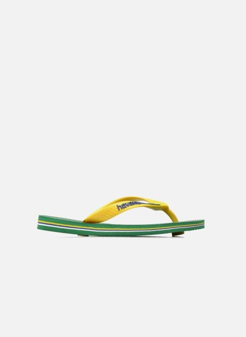 Chanclas Havaianas Brasil Logo E Verde vistra trasera