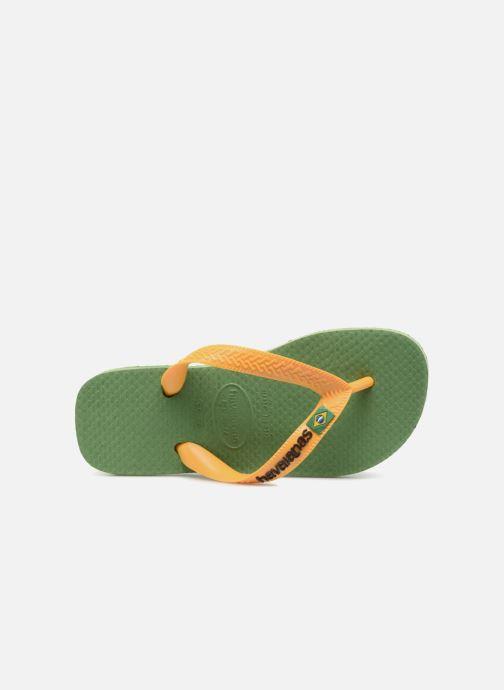 Slippers Havaianas Brasil Logo E Groen links