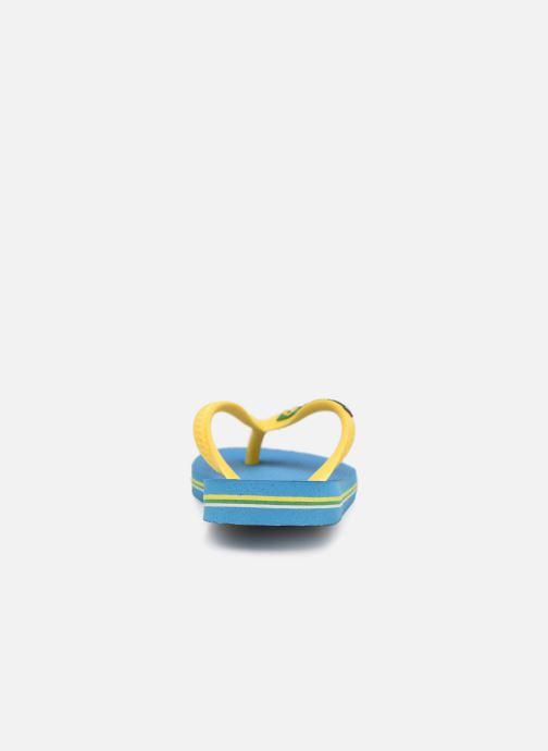 Flip flops & klipklapper Havaianas Brasil Logo E Blå Se fra højre