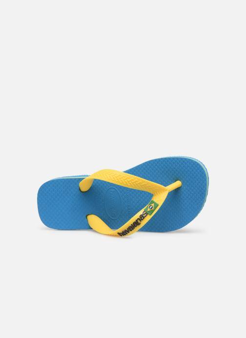 Flip flops & klipklapper Havaianas Brasil Logo E Blå se fra venstre