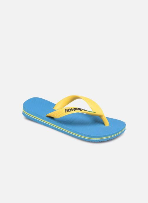Flip flops & klipklapper Havaianas Brasil Logo E Blå detaljeret billede af skoene