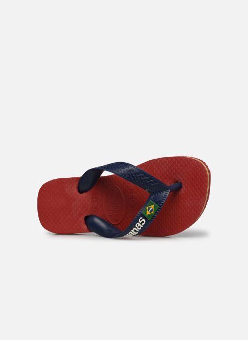 Slippers Havaianas Brasil Logo E Bordeaux links