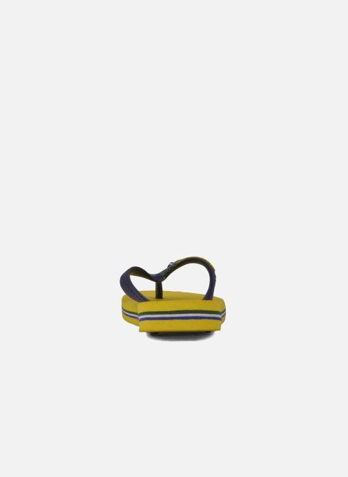 Slippers Havaianas Brasil Logo E Geel rechts