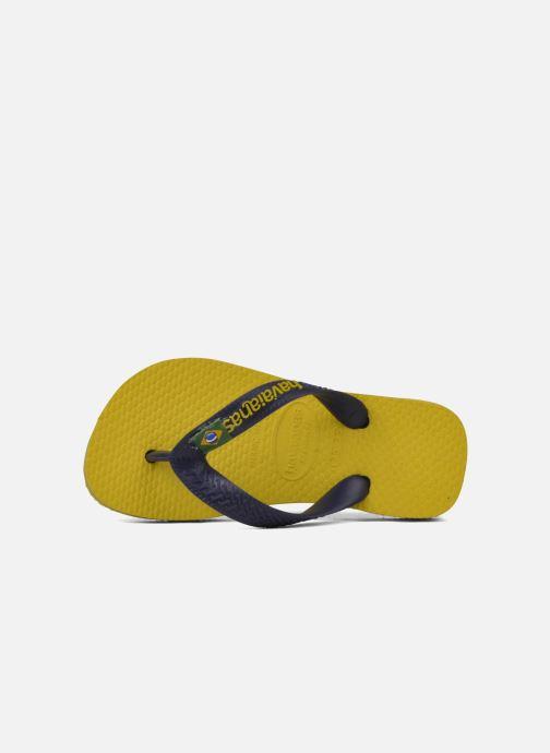 Slippers Havaianas Brasil Logo E Geel links