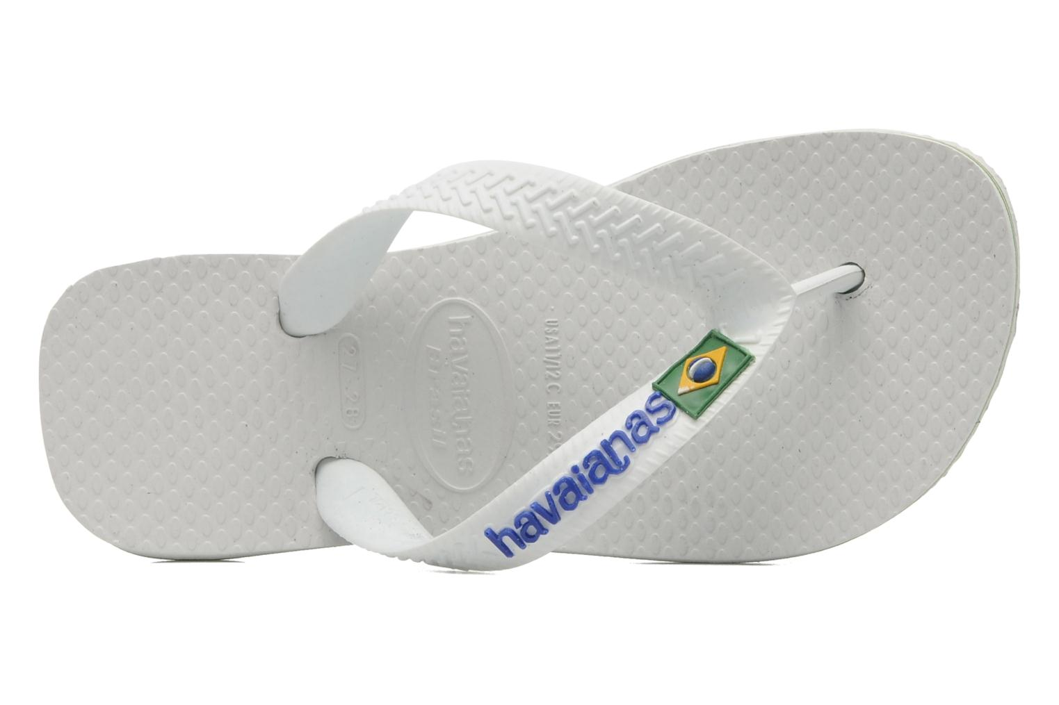 Slippers Havaianas Brasil Logo E Wit links