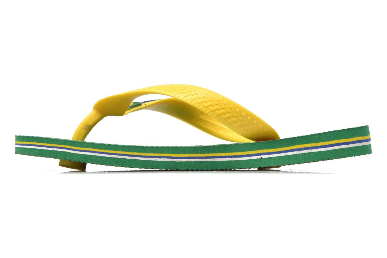 Flip flops Havaianas Brasil Logo E Green front view
