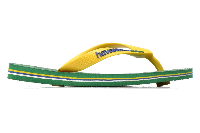 Flip flops Havaianas Brasil Logo E Green back view