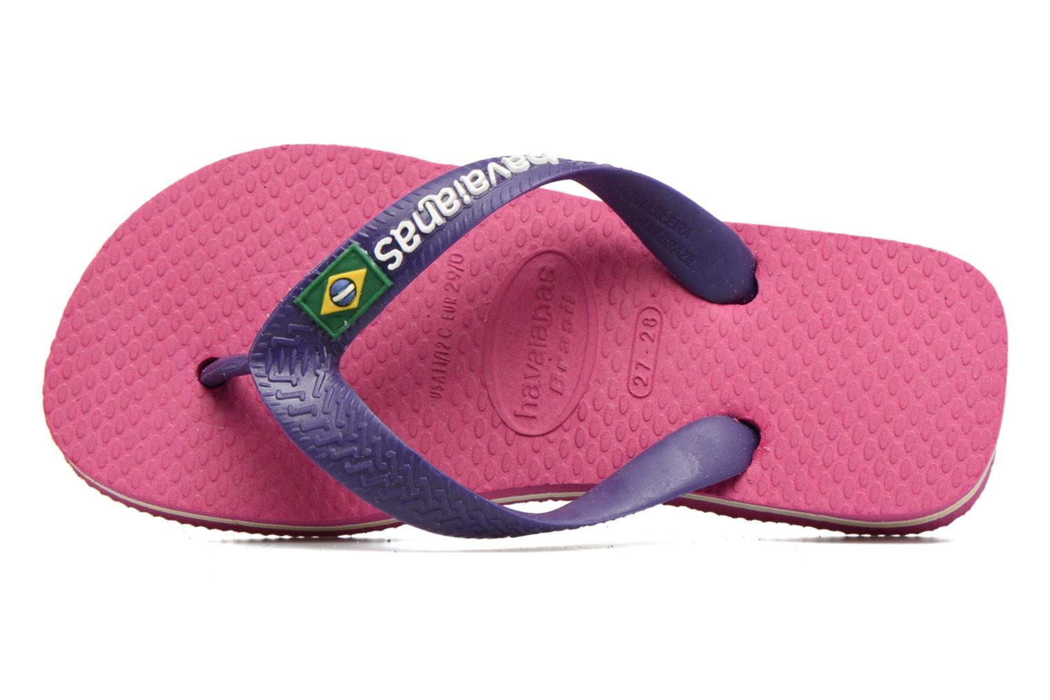 Slippers Havaianas Brasil Logo E Roze links