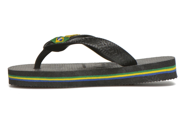 Slippers Havaianas Brasil Logo E Zwart voorkant
