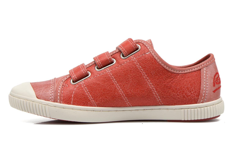 Sneakers Pataugas Bistrot Röd bild från framsidan