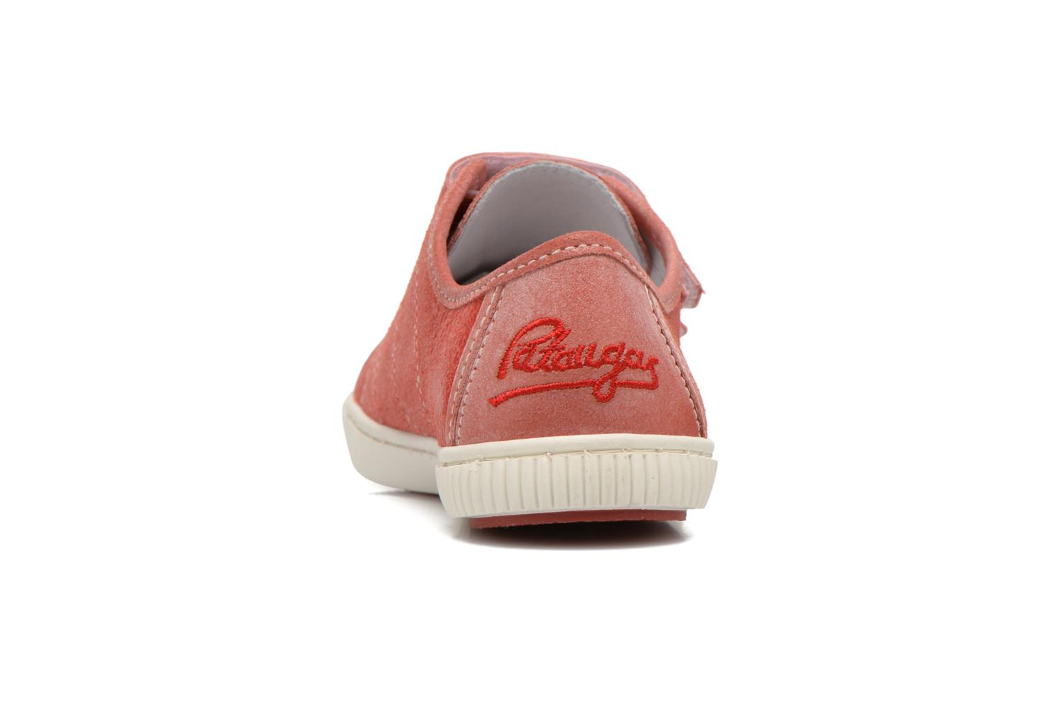 Sneakers Pataugas Bistrot Rosso immagine destra