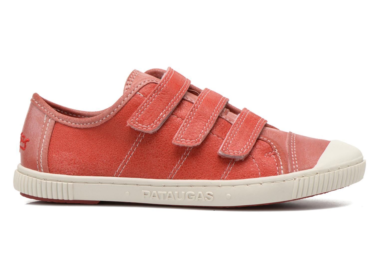 Sneakers Pataugas Bistrot Röd bild från baksidan