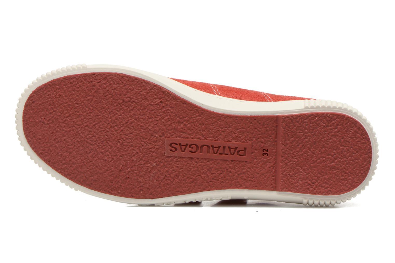 Sneakers Pataugas Bistrot Röd bild från ovan