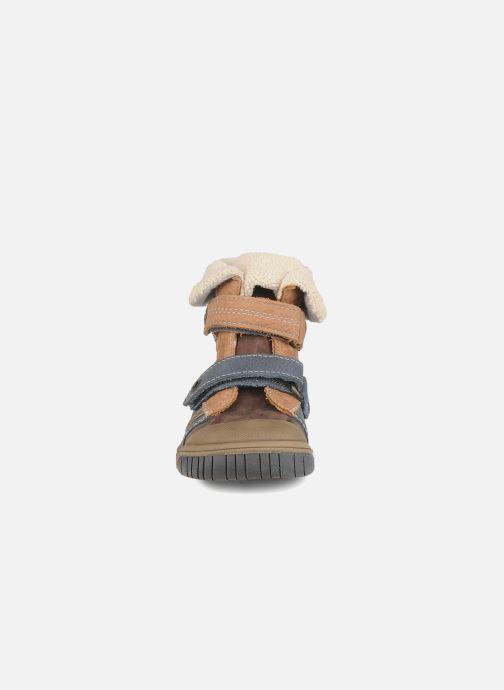 Zapatos con velcro Babybotte Acteur G Azul vista del modelo