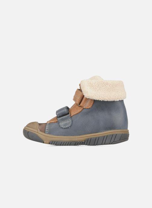 Zapatos con velcro Babybotte Acteur G Azul vista de frente