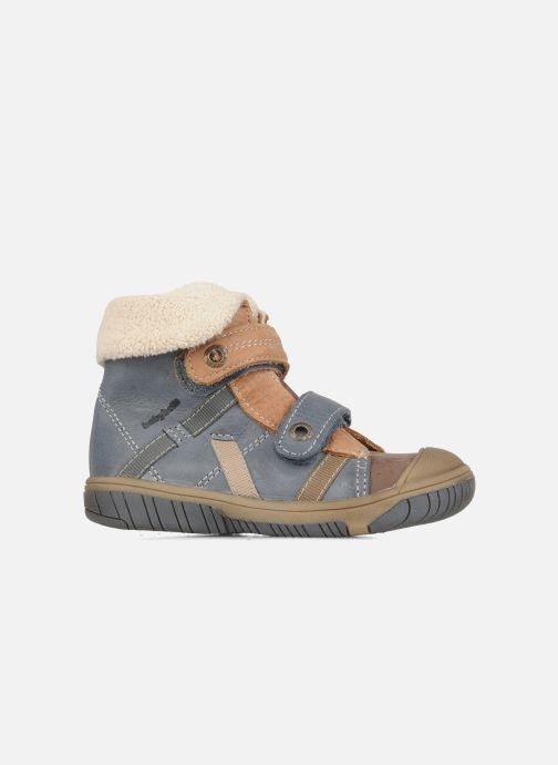 Zapatos con velcro Babybotte Acteur G Azul vistra trasera