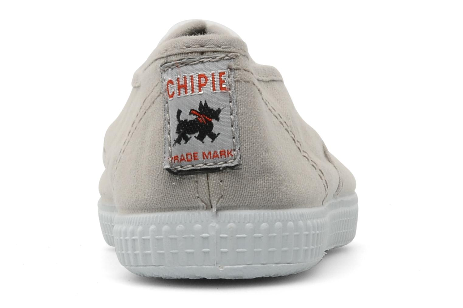 Trainers chipie bis Josepe Beige view from the right