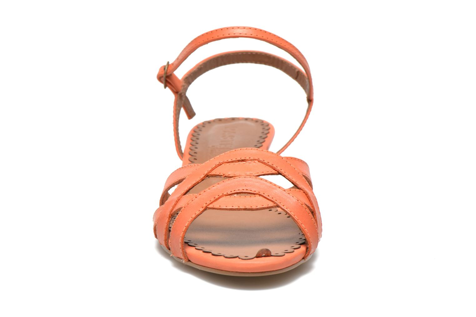 Sandals Pastelle Cerfeuil Orange model view
