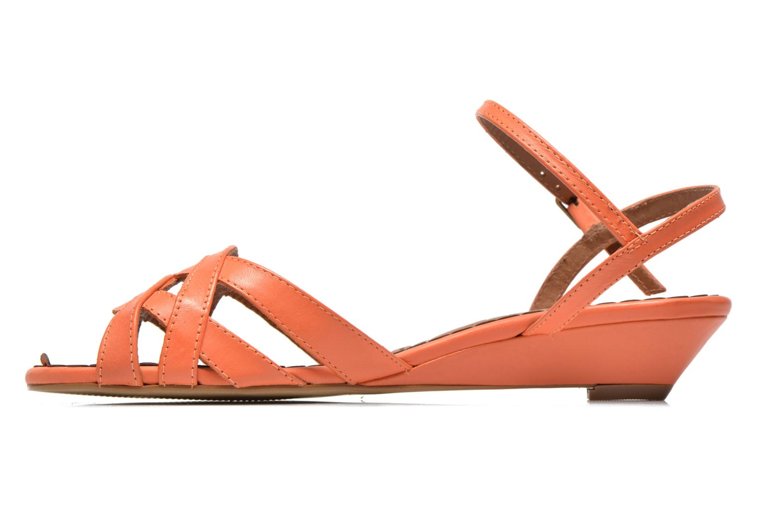 Sandals Pastelle Cerfeuil Orange front view