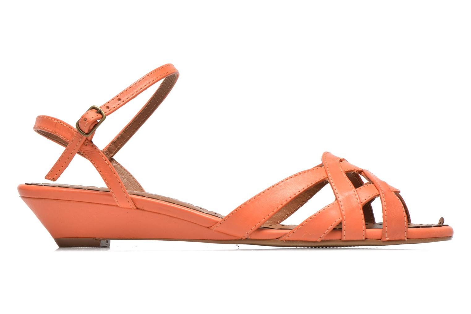 Sandals Pastelle Cerfeuil Orange back view