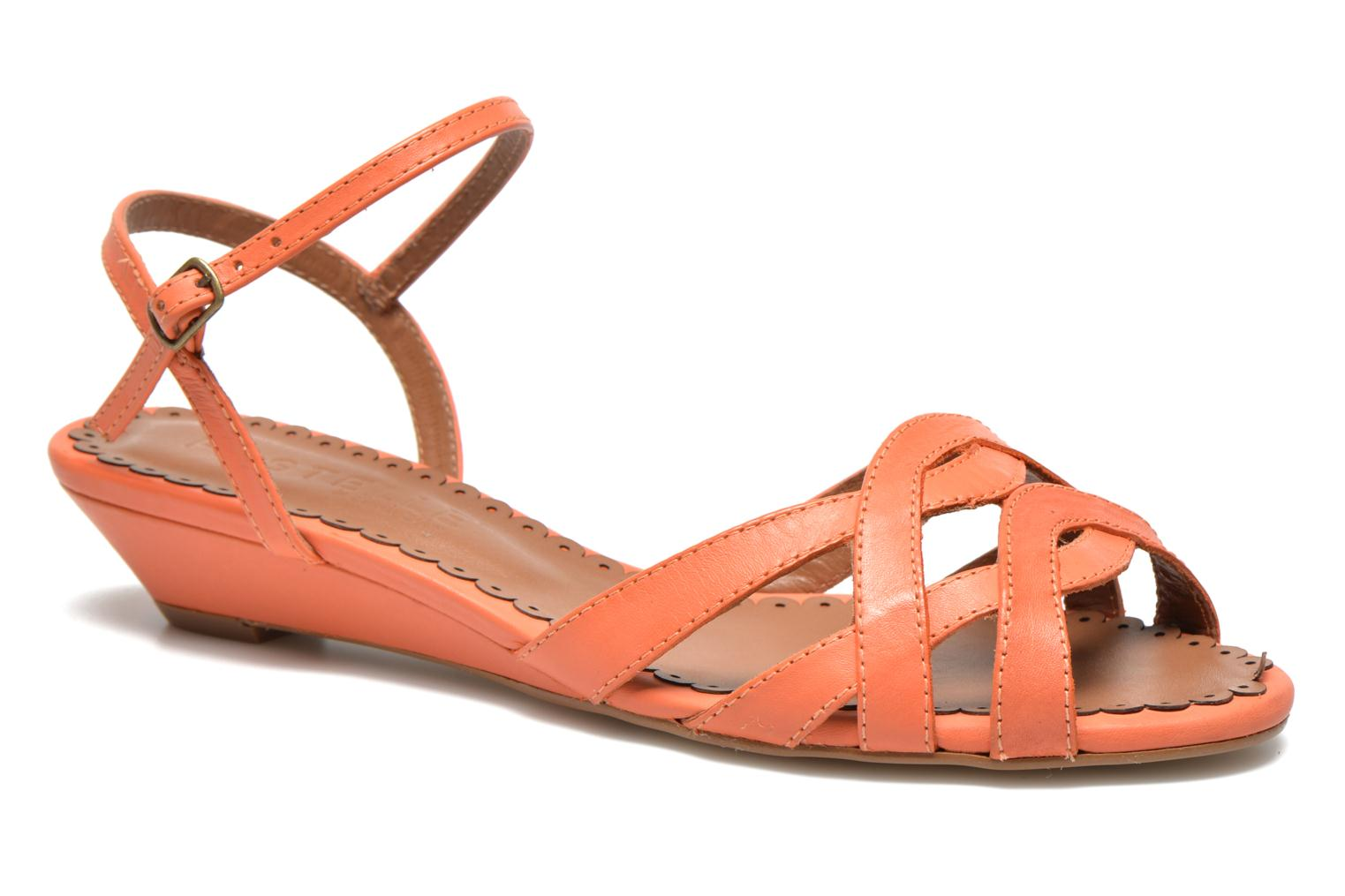 Sandals Pastelle Cerfeuil Orange detailed view/ Pair view