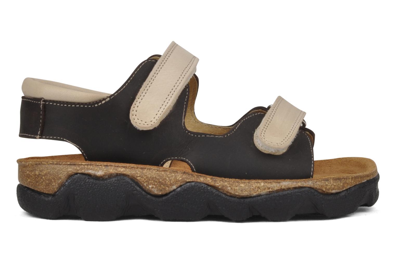 Sandales et nu-pieds Natik B-563 Marron vue derrière