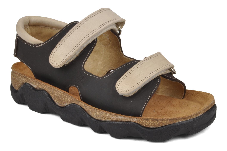 Sandales et nu-pieds Natik B-563 Marron vue détail/paire