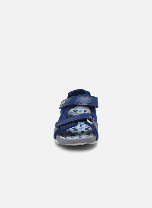 Sandali e scarpe aperte Camper Ous 80188 Azzurro modello indossato