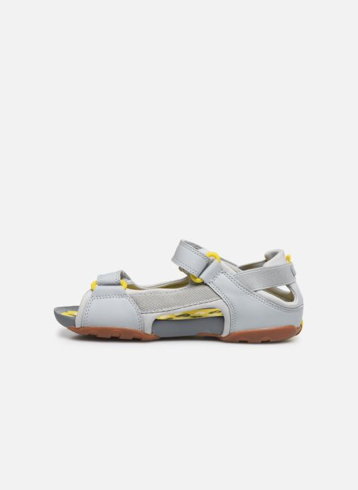 Sandales et nu-pieds Camper Ous 80188 Gris vue face